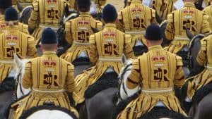 Household Cavalry musical division at Trooping the Colour (2016)