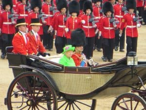 Queen Elizabeth II and Prince Philip at Trooping the Colour (2016)