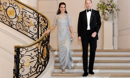 Kate's most royal fairy tale gown (to date)