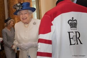 Queen Elizabeth II Canadian Maple Leaf Brooch Canada House July 2017