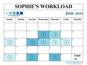 Sophie Rhys Jones Countess of Wessex workload engagements calendar June 2017