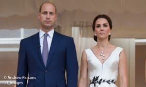 Prince William Kate Middleton white Gosia Baczynska Duchess of Cambridge royal visit Warsaw Poland 2017
