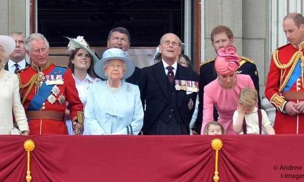 The royal family's work statistics for July