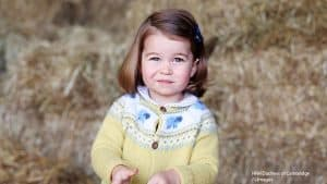 Princess Charlotte second birthday picture taken by mother Kate Middleton Duchess of Cambridge May 2 2017