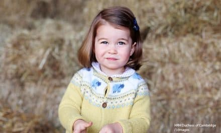 Princess Charlotte turns 2 in a media game of hide-and-seek