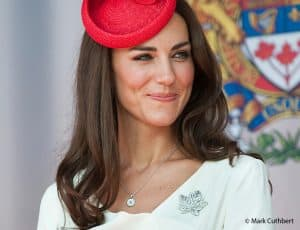 Kate Middleton Duchess of Cambridge Canada Day Ottawa Maple Leaf royal brooch