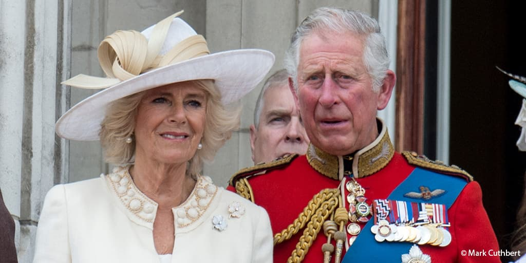 Prince Charles Prince of Wales Camilla Duchess of Cornwall Trooping the Colour Buckingham Palace balcony 2017
