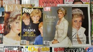 Princess Diana 20th anniversary death commemorative magazine covers