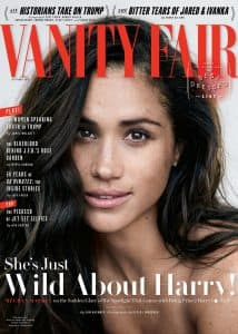 Meghan markle vanity fair cover Prince Harry October 2017