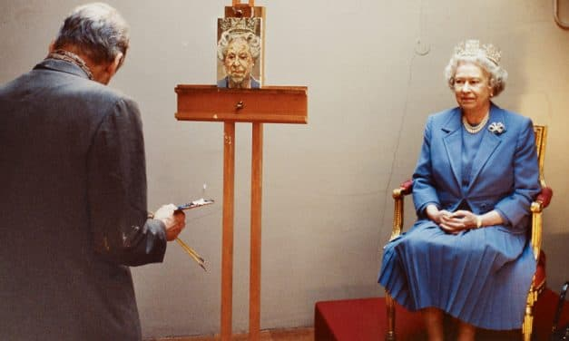 Queen Elizabeth's self-portraits come to Vancouver