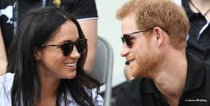 Prince Harry Meghan Markle Invictus Games gazing into each others eyes 2017