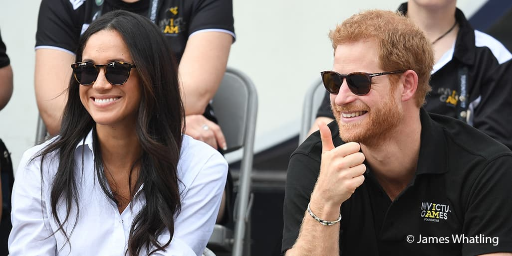 Prince Harry Meghan Markle together Invictus Games Toronto September 2017