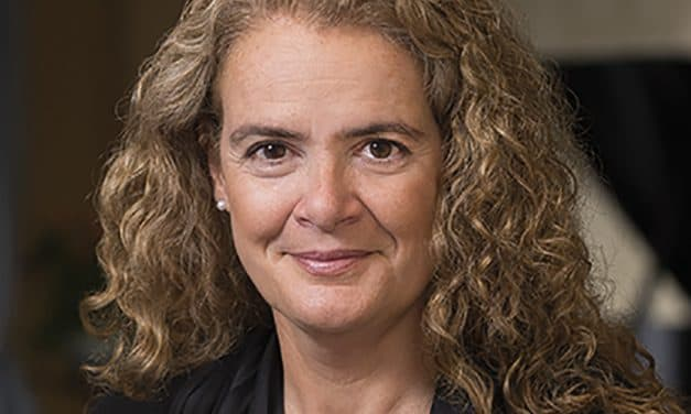 Governor General Julie Payette defends science, then mocks and stumbles