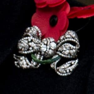 Dorset bow royal brooch Queen Elizabeth II