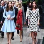 2017 statistics on Kate's style and fashion