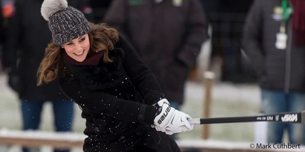 Kate Middleton Burberry Stockholm Sweden black