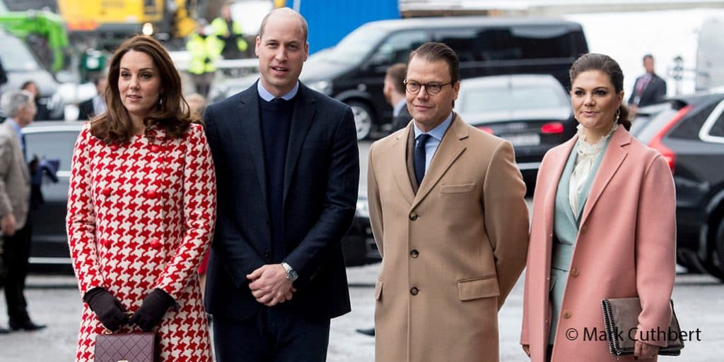 Kate Middleton Catherine Walker red coat style fashion