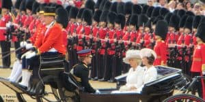 Trooping the Colour kate Middleton Camilla Parker Bowles Prince Harry 2016