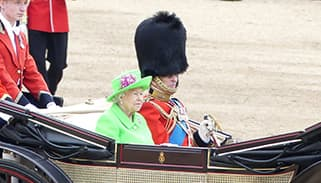 Trooping the Colour Queen Elizabeth II Prince Philip carriage 2016