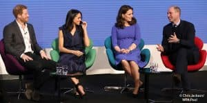 Kate Middleton Meghan Markle Prince Harry William foundation charity 2018
