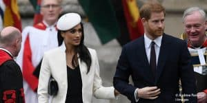 Prince Harry Meghan Markle royal family Commonwealth Day service Westminster Abbey 2018
