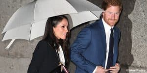 Prince Harry Meghan Markle Endeavour Fund Awards London Black Alexander McQueen