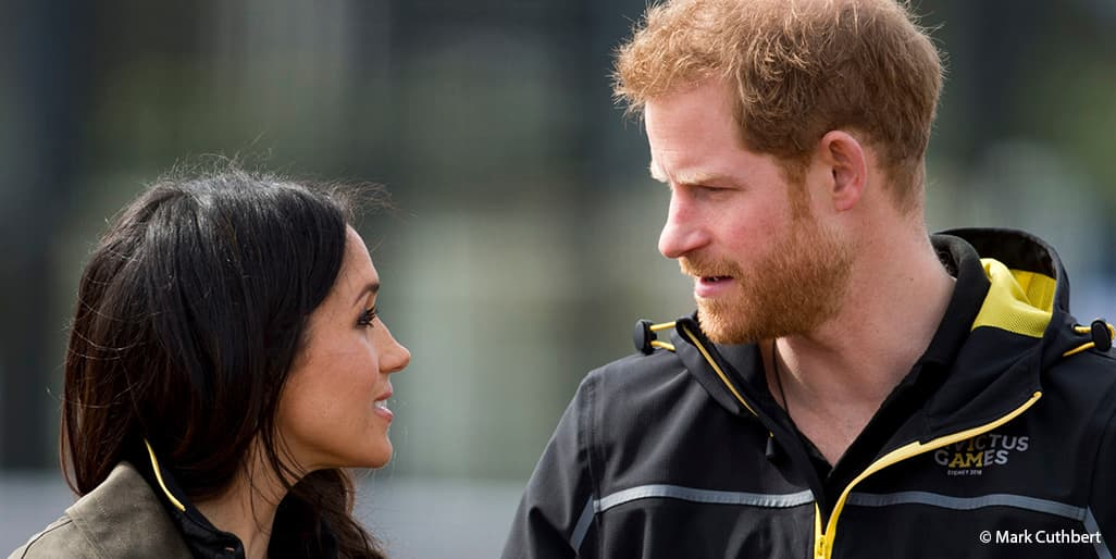 Meghan Markle Prince Harry Invictus Games Aritzia coat