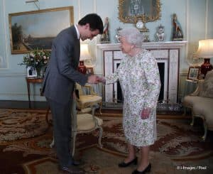 queen elizabeth II Justin Trudeau British royal family Commonwealth