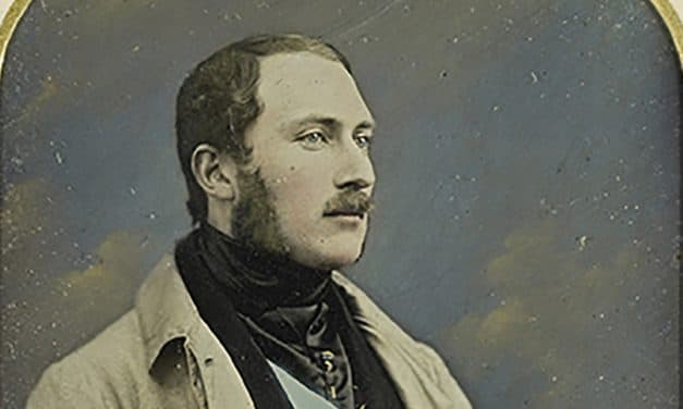 Scanning Prince Albert in the royal family's archives