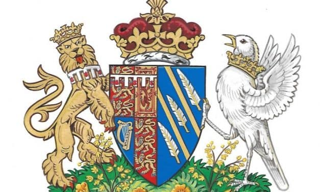 A coat of arms for the new Duchess of Sussex